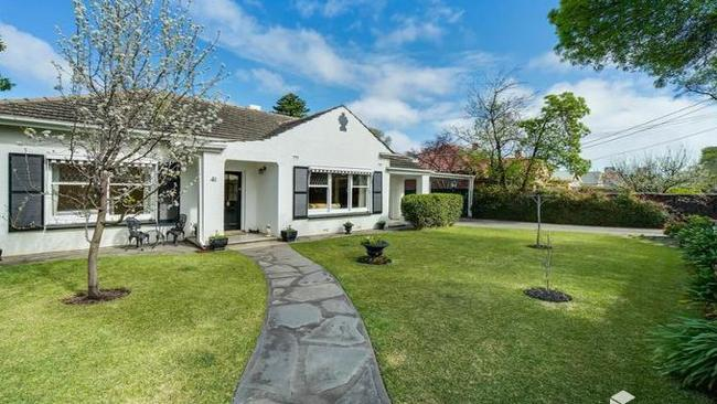 41 North St, Collinswood sold for $1.538 million.