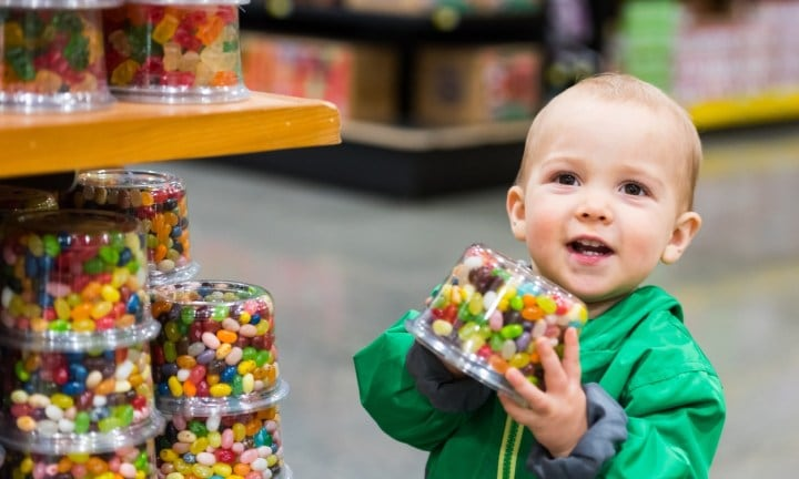 Mum filed a lawsuit because she thought jellybeans were a healthy snack