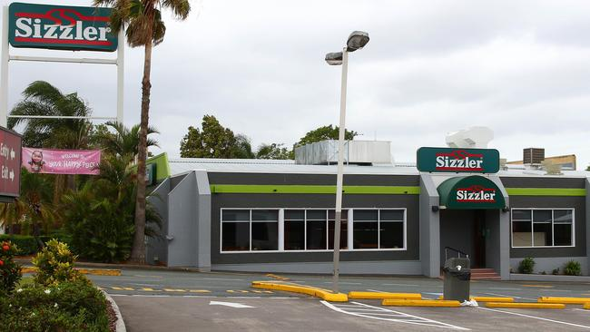 Sizzler Annerley was bulldozed swiftly after closing in July.