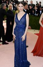 """Anna Kendrick attends the """"Manus x Machina: Fashion In An Age Of Technology"""" Costume Institute Gala at Metropolitan Museum of Art on May 2, 2016 in New York City. Picture: Larry Busacca/Getty Images/AFP"""