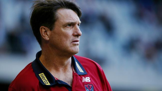 Paul Roos wasn't happy with his players' efforts. Picture : Colleen Petch