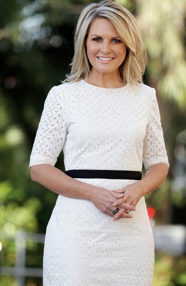 Channel 9 newsreader Georgie Gardner.