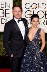 Channing Tatum and Jenna Dewan Tatum attend the 73rd Annual Golden Globe Awards held at the Beverly Hilton Hotel on January 10, 2016 in Beverly Hills, California. Picture: Jason Merritt/Getty Images/AFP