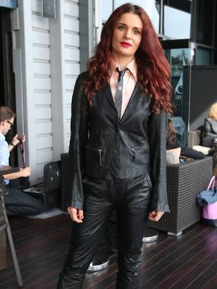 On the outside: Danielle Cormack out of green