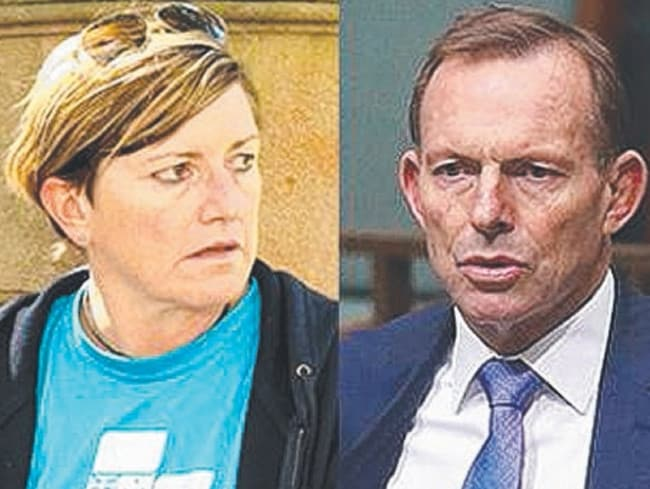Christine Forster and Tony Abbott are in a family feud over gay marriage.