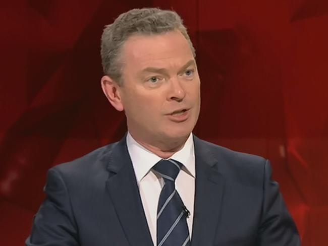 Christopher Pyne told a Liberal party function he had voted for Mr Turnbull in every leadership battle he had been in against Tony Abbott.