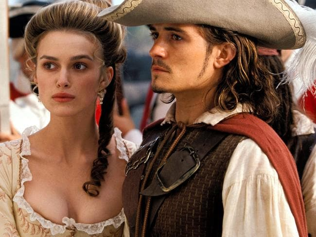 Keira Knightley rose to fame alongside Orlando Bloom in Pirates of the Caribbean: Curse of the Black Pearl.