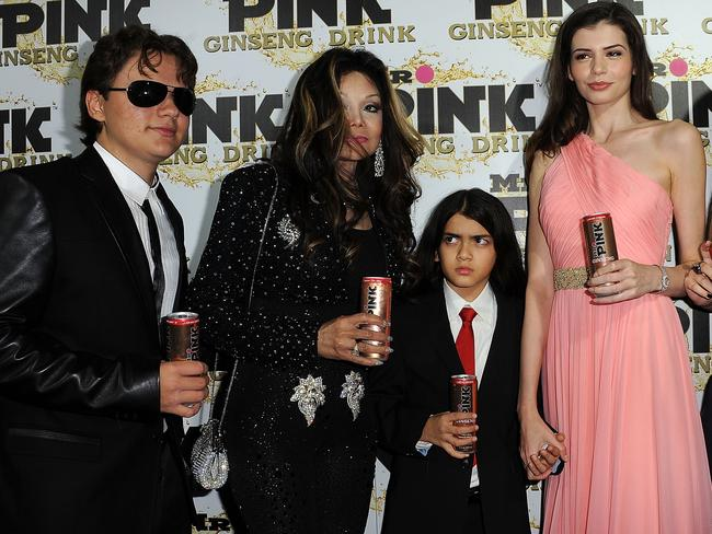 Prince Michael Jackson is not a happy camper.