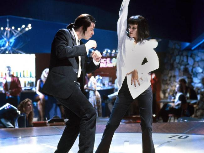 Jungle boogie ... John Travolta and Uma Thurman in Pulp Fiction.