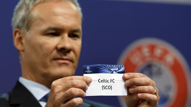 Celtic were reinstated into the Champions League and Legia Warsaw isn't happy.