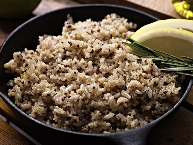 Quinoa is a great base for salads and main dishes.