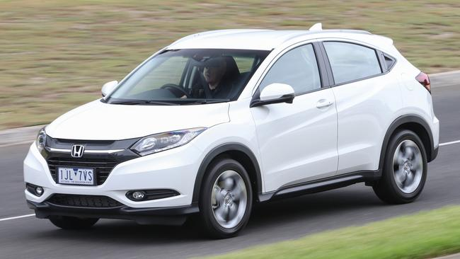 Honda's HR-V is the most spacious of the baby SUVs. Picture: Thomas Wielecki.