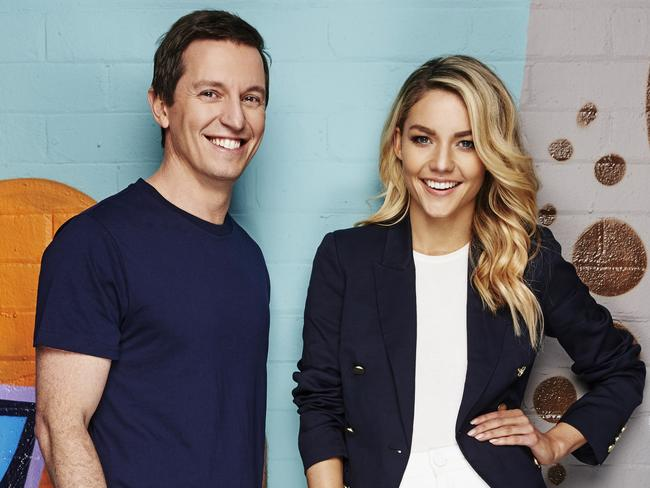 Rove McManus and Sam Frost's radio show was officially axed last month. Picture: 2DayFM