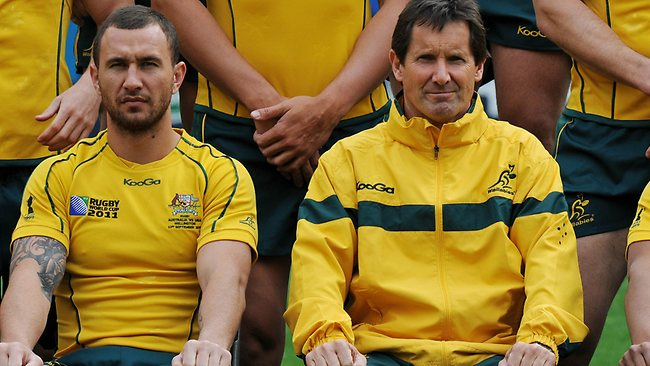 Quade Cooper and Robbie Deans unlikely to be exchanging Christmas cards.