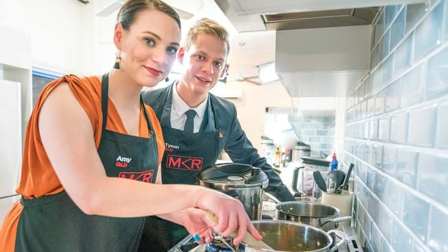 MKR recap Amy and Tyson the highest score in My Kitchen Rules