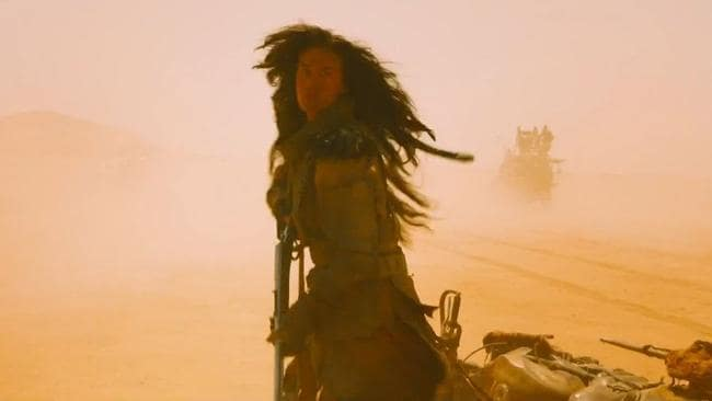 Phwoar! Megan Gale in Mad Max: Fury Road.