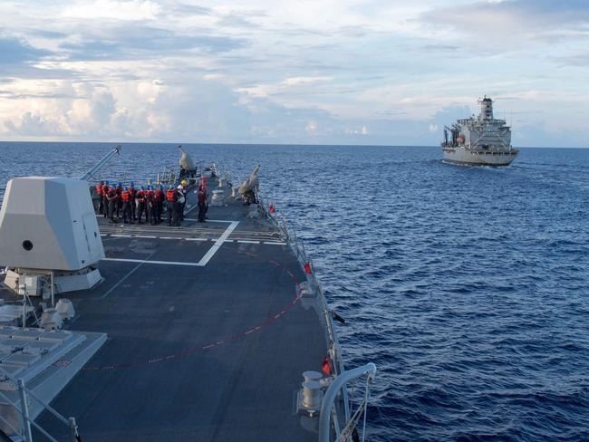 High-stakes moves in South China Sea