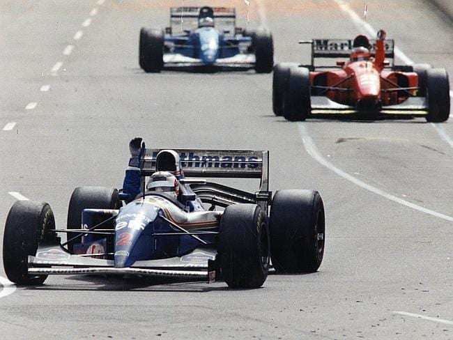 The No. 2 Williams won its first race of the year in Adelaide, but with Mansell, not Senna, aboard.