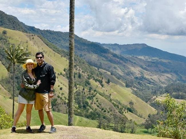 During a Cocora Valley hike in Colombia. Source: www.sarepa.com