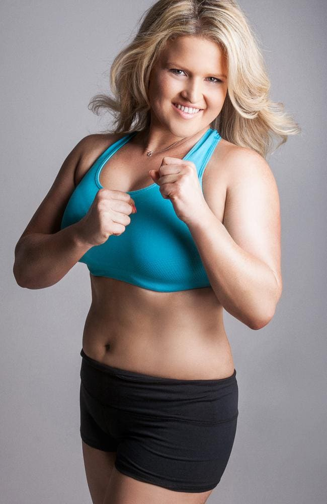 The pair now run their own personal training business and Courtney has gone from a size 18 to a size 10.