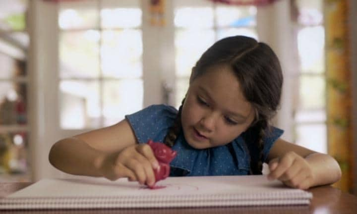 Crayons to help abused children heal by drawing their monsters away