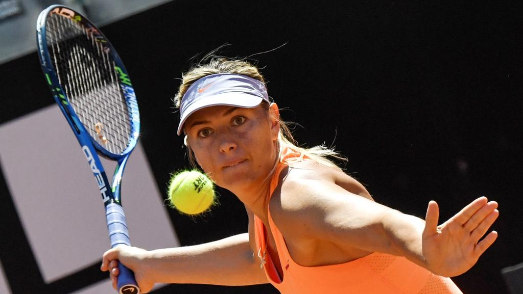 Maria Sharapova of Russia will play the qualifying tournament for Wimbledon.