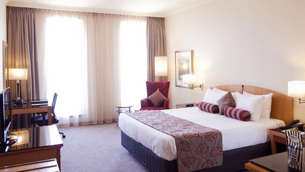 The Deluxe King Room at The Duxton - available for $209 down from $499.