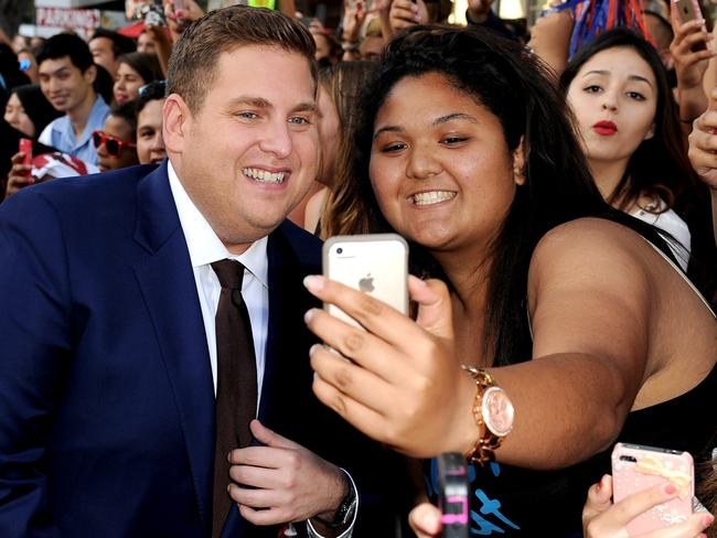 While actor Jonah Hill is a hit with fans, he admits it can be hard to have to learn from his mistakes in front of everybody.