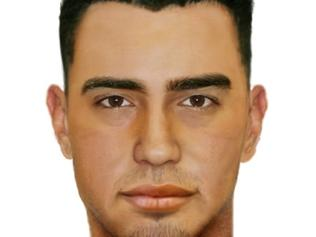 Digital composite of man involved in Coolaroo shooting in May