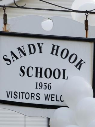 The school where a gunman massacred 26 children and teachers in December 2012 Picture: AFP
