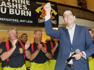 Daniel Andrews on campaign trail