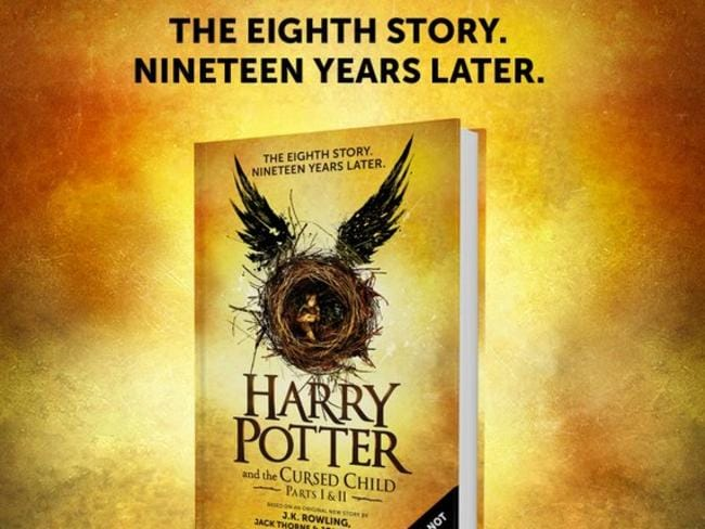 Harry Potter Book Error ~ Harry potter and the cursed child new book actually a
