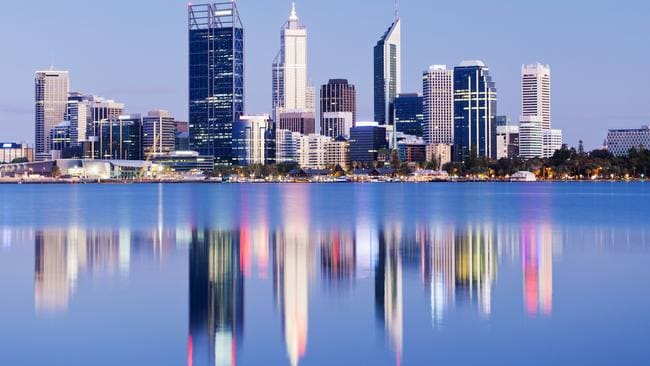 Perth scores highly for education and healthcare but not culture.