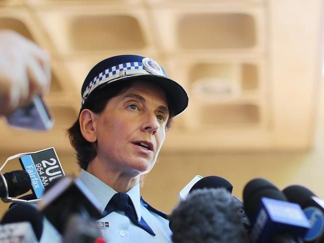 Dignity and professionalism … NSW Deputy Police Commissioner Catherine Burn. Picture: Joosep Martinson/Getty Images