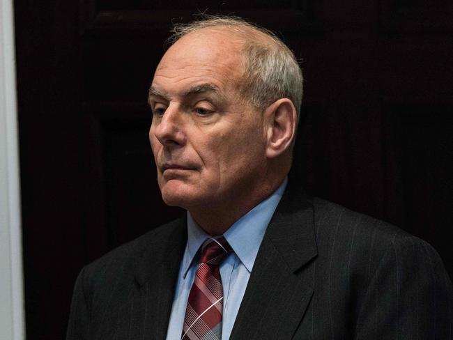 White House chief of staff John Kelly says the President's views on many issues have 'evolved'. Picture: AFP/Nicholas Kamm