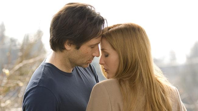 Cult classic. X-Files stars David Duchovny and Gillian Anderson.