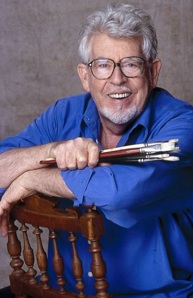 Public profile ... A promotional picture of Rolf Harris issued during a tour of Australia in 2008.