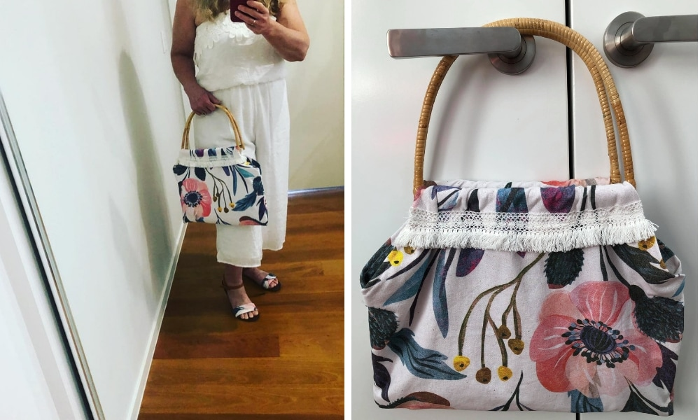 Mum turns Kmart tea towels into super cute handbags and hello, summer