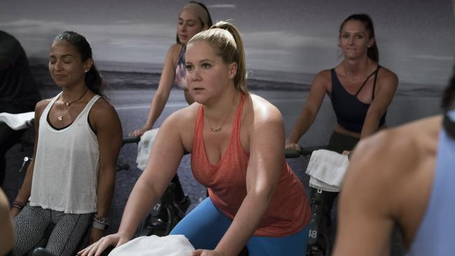 Amy Schumer recently said that every year she gets more and more comfortable in her own skin.