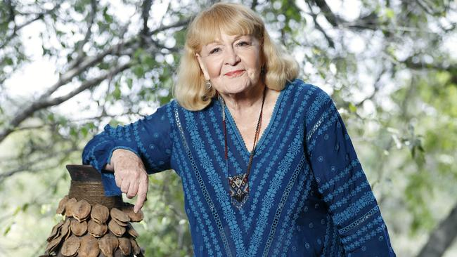At 72, Val Lehman is the oldest contestant to have competed on the reality show internationally. Picture: Nigel Wright/Ten
