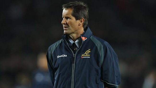 Plenty to think about: Wallaby coach Robbie Deans.