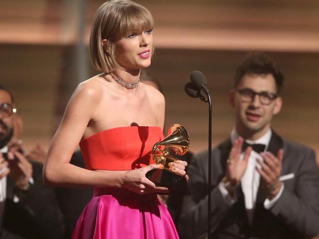 Taylor Swift thanks fans for their support.