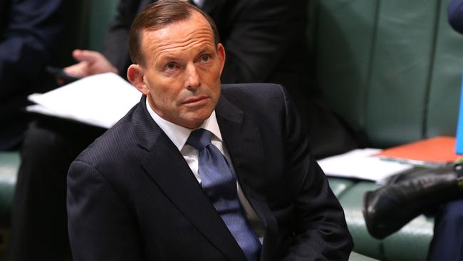 Waiting...Tony Abbott says he is still waiting for a formal request from the US for assistance in Iraq and Syria. Picture: supplied