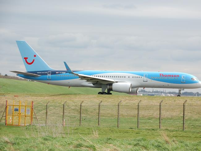 A Thomson Airways plane. Picture: Alec Wilson