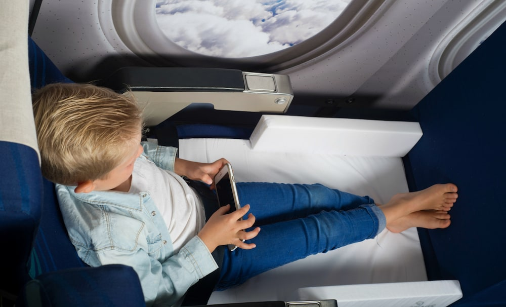 Qantas and Jetstar ban kids' travel sleeping devices. Parents weep!