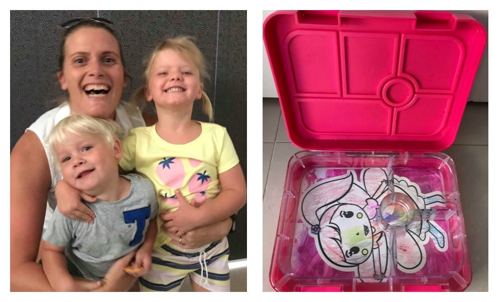 Mum's gorgeous lunchbox trick to beat her daughter's kindy blues