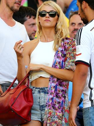 Sami Khedira's girlfriend.