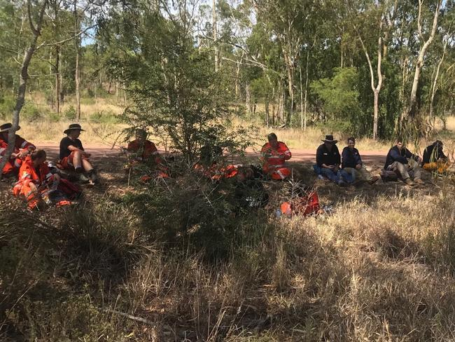 SES volunteers and police continue the search for Jayden Penno-Tompsett near Charters Towers.