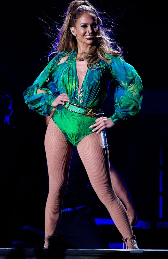 No show ... Jennifer Lopez has pulled out of the World Cup opening in Brazil. Picture: AP