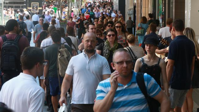 Brisbane shoppers have rushed into stores to snap up bargains during the Boxing Day sales.